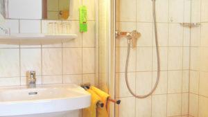 Doppelzimmer zum Ort im Haupthaus Bad